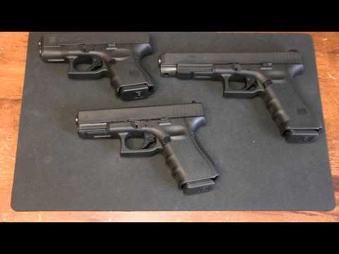 """The """"other"""" Glock 40 S&Ws: G23, G27, G35"""