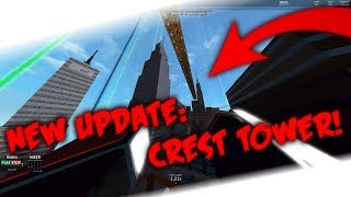 {test server} From spawn to Crest Tower! ROBLOX PARKOUR
