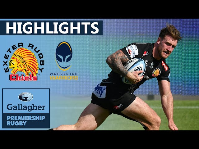 Exeter v Worcester - HIGHLIGHTS | 9 Tries in Dominant Victory! | Gallagher Premiership