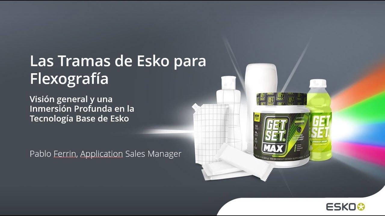 Obtengan una visión general de las tecnologías de tramado de Esko en tramado Flexográfico.
