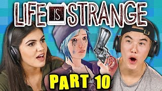 THE KILLER APPROACHES!!! | LIFE IS STRANGE - Part 10 (React: Gaming)