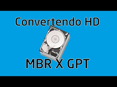 Converter HD MBR para GPT