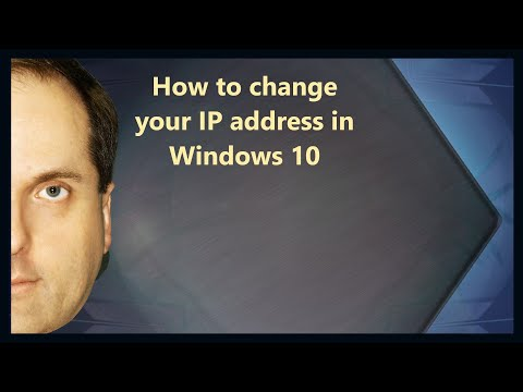 How to change your IP address in Windows 10