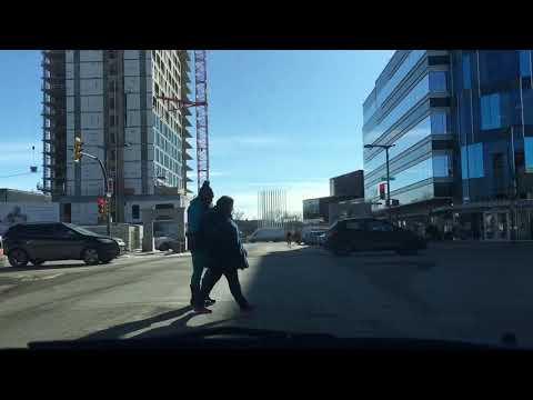 Downtown Saskatoon - Idylwyld freeway