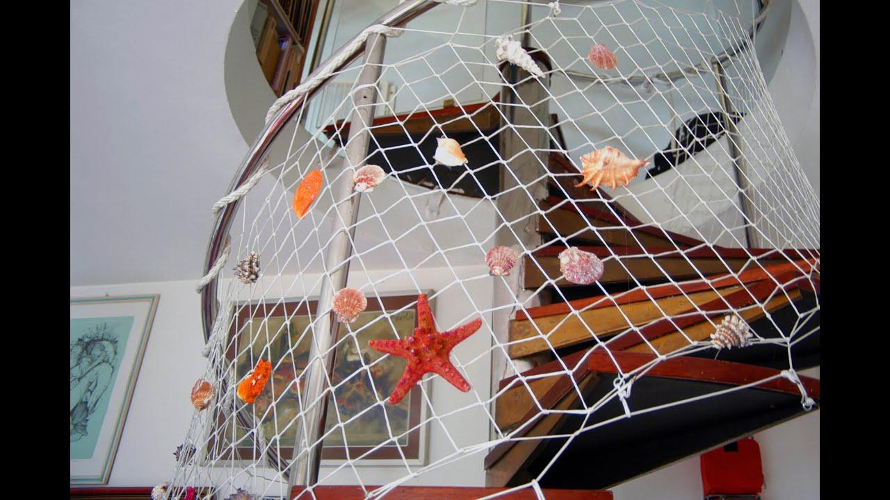 Rete Per Balconi Bambini sicurezza bambini: rete di protezione per la scala a chiocciola. a  staircase childproof