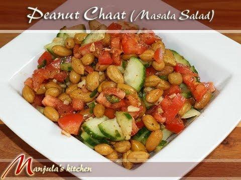 Peanut Chaat (Masala Salad) Recipe by Manjula