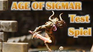 Age of Sigmar im Vergleich gegen Warhammer 8. Edition - Testspiel für Anfänger Full HD