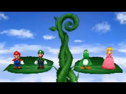 Mario Party DS - All Minigames