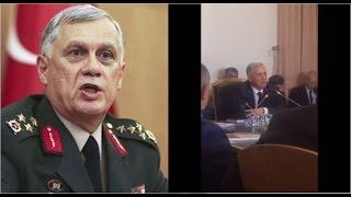 Meclis Darbe Komisyonu, Orgeneral Dündar'ı dinledi; oturum Periscope'dan yayınlandı