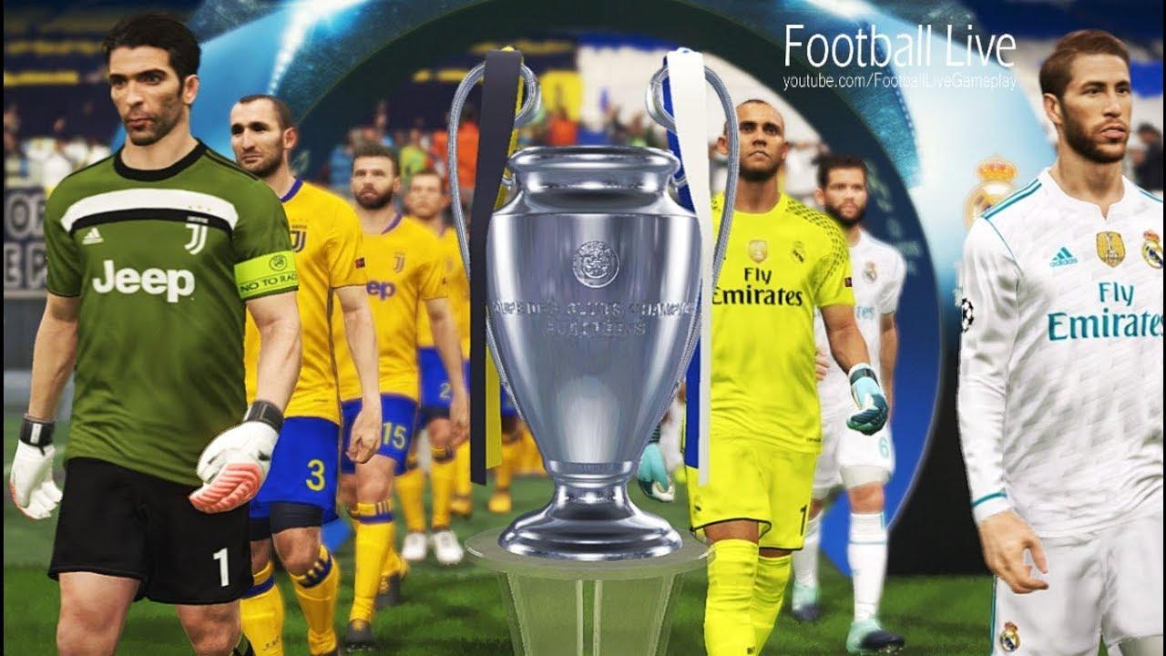 Pes  Uefa Champions League Final Real Madrid Vs Juventus Gameplay Pc