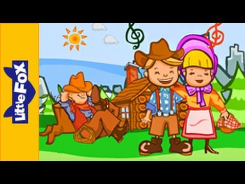 Home on the Range   Song for Kids by Little Fox
