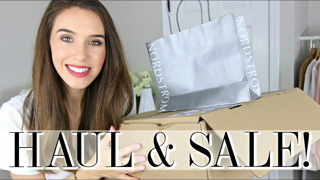 HUGE NORDSTROM HAUL | What's NEW & ON SALE!