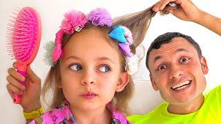 Papá e hijas - Canciones Infantiles | Maya y Mary