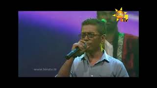 Udawadiya malak song Chamara Weerasinghe live with Feed back