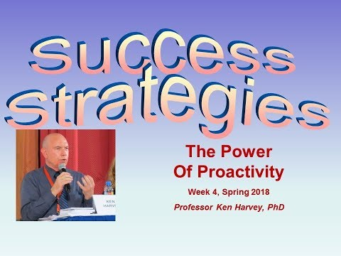 Success Strategies Lecture 4 - Part 1