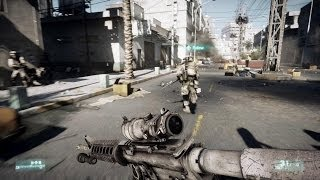 Battlefield 3 - PC Gameplay on GTX 660 OC (Operation Guillotine)