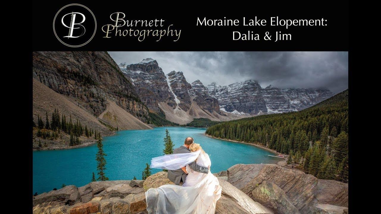 Moraine Lake Elopement Dalia Jim 1080p