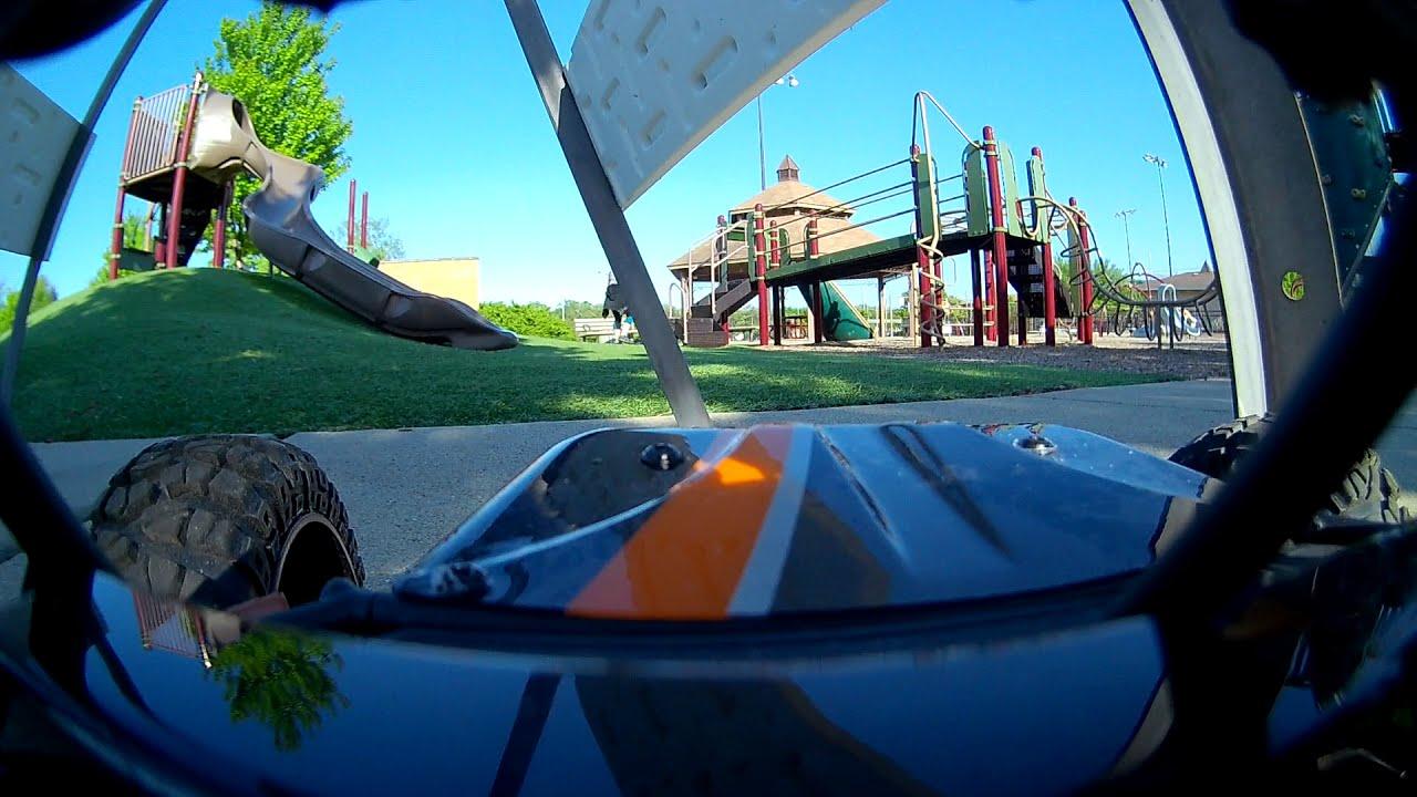 FPV car play lot trial - raw video. картинки