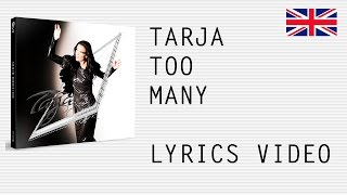 Tarja Turunen - Too many - Official English lyrics (subtitles)