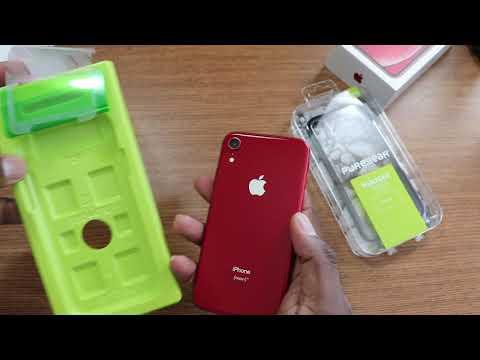 iPhone XR | PureGEAR Tempered Glass & DUALTEK Case