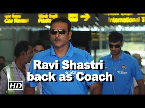 Ravi Shastri back as coach, Zahir Khan, Rahul Dravid to support