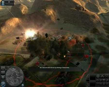 World in conflict: Huge explosion