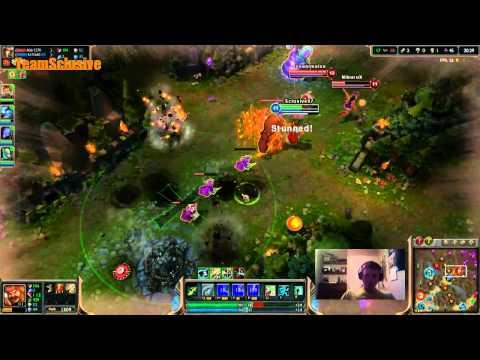 League of Legends Huge Comeback Gameplay