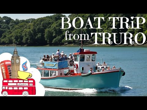 Boat Trip with Falriver :Truro-St Mawes-Falmouth-Truro. Cornwall