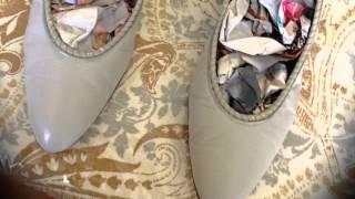 Thrift Shop Shoe Transformation Tutorial Thumbnail