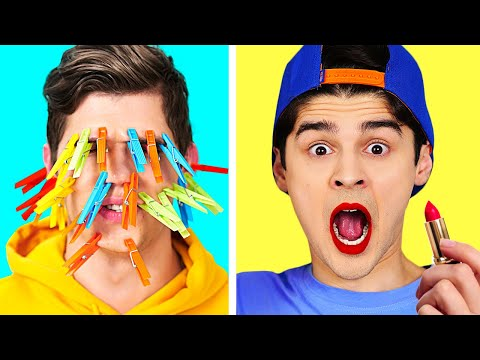 COOLEST 30 SECONDS CHALLENGE! || Real Speed DIY Pranks And Funny TikTok Tricks By 123 GO! BOYS