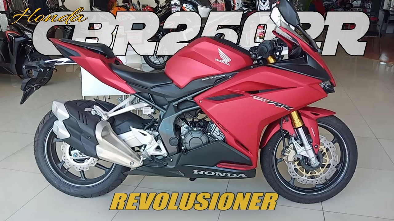 Honda CBR 250 RR abs bravery matte red - spesifikasi & fitur