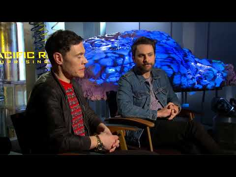 Pacific Rim Uprising : Burn Gorman & Charlie Day