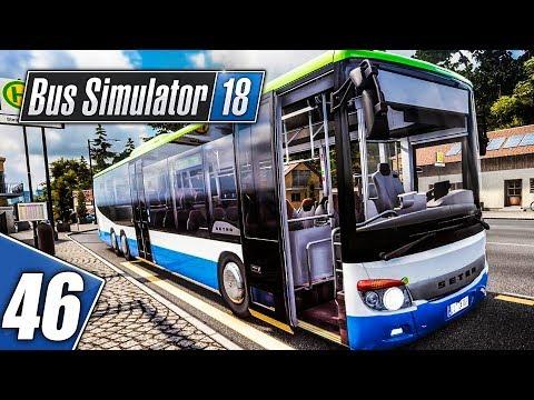 BUS SIMULATOR 18 #46: Storytime - die Schlägerei | SETRA 418 LE | BUS SIMULATOR 2018