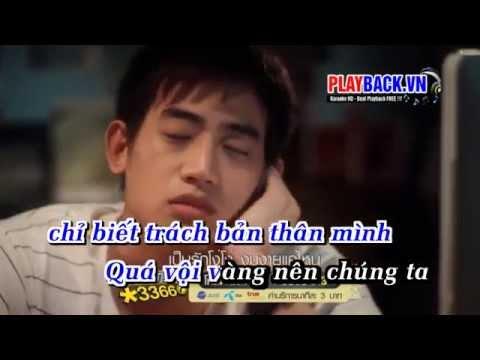 [ Karaoke HD ] Vội Vã Yêu Nhau Vội Vã Rời - Lương Bích Hữu Ft. Ngô Kiến Huy