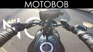 Does A DJI Osmo Mobile Gimbal / iPhone 7 Plus Work On A Motorcycle? Handlebar Mount Experiment