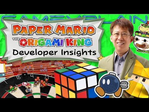 An Open World Paper Mario? NEW Origami King Gameplay Details From The Developers!