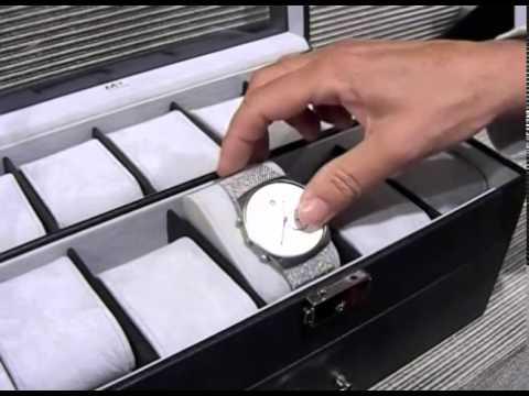 Caja relojero para guardar 20 relojes solohombre youtube - Cajas de plastico para almacenar ...
