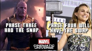Will there be more love or thunder from the fans over Thor? And taking a look at Phase 4