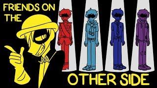 Freunde auf der Anderen Seite (Dunkle Seiten AU-Animation)