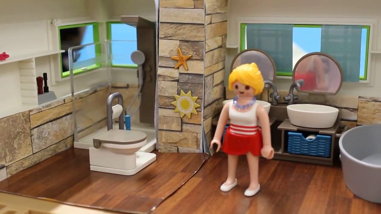 Badezimmer | Pimp my Playmobil - YouTube