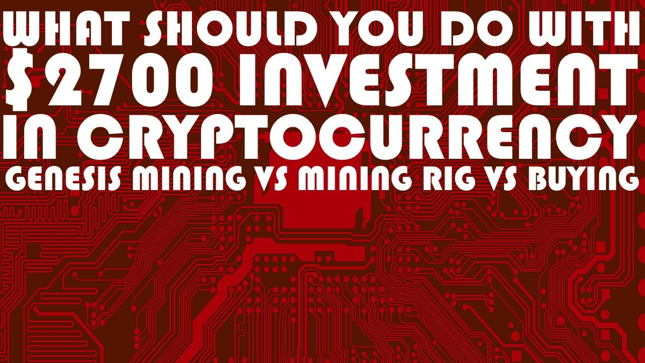 cryptocurrencies investing & mining