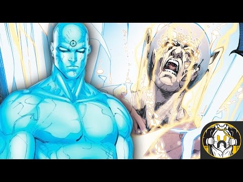 "Doctor Manhattan APPEARS in DC Universe | The Flash #22 ""The Button Part 4"""
