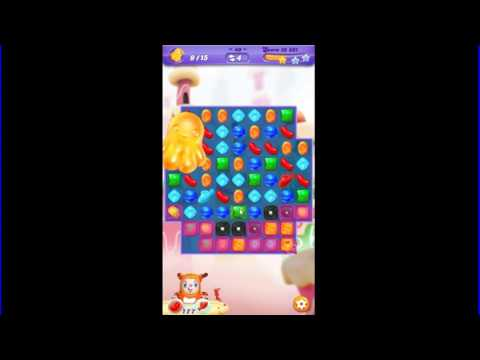 Candy Crush Friends Saga level 49 ((Jean-Luc Pecan))