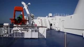 太平洋フェリー新造船「きたかみ」名古屋港〜仙台港。