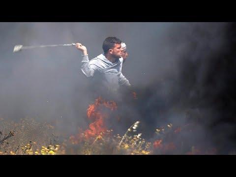 Protests turn deadly in Gaza