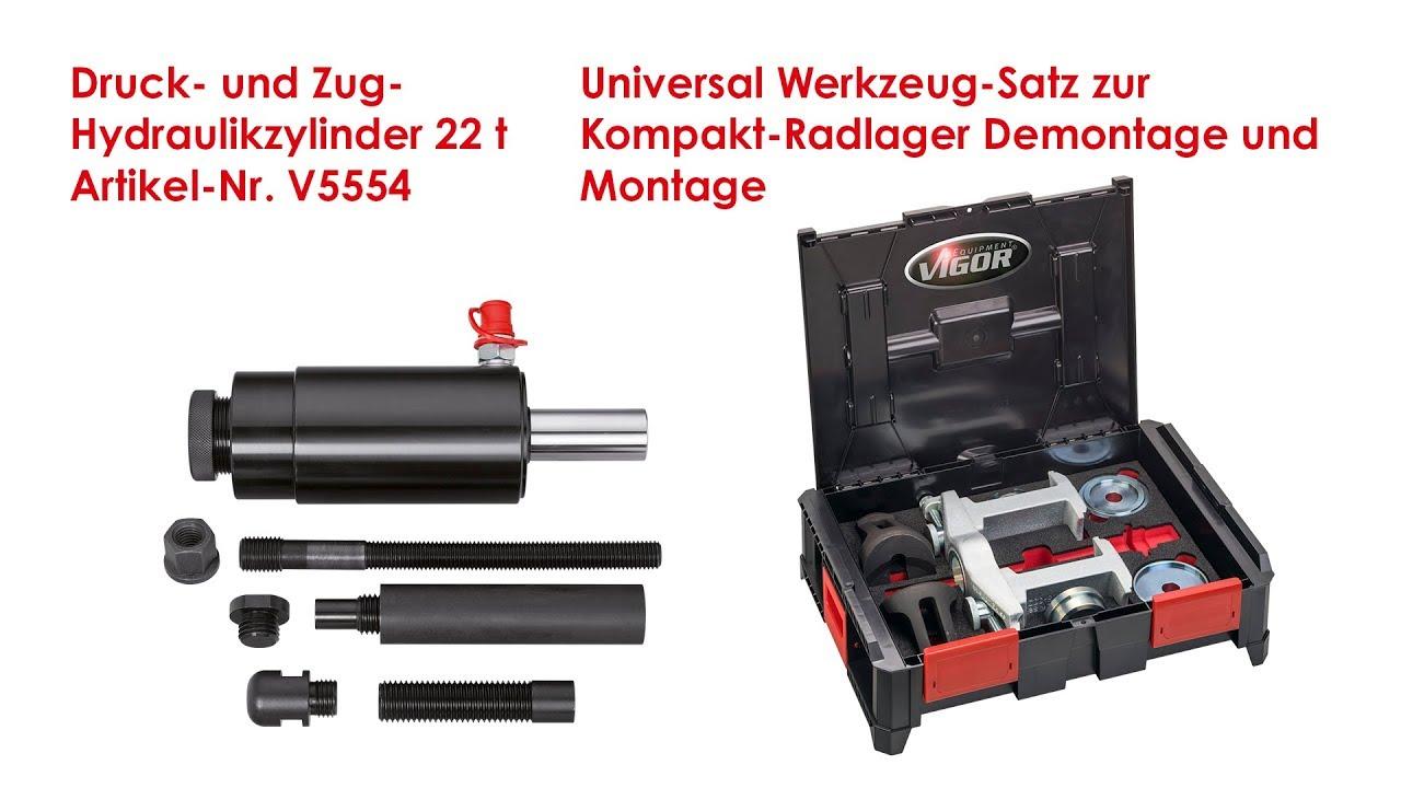 Universal Achslager Werkzeug Lager Montage Satz Abzieher  Achslager Radlager Neu