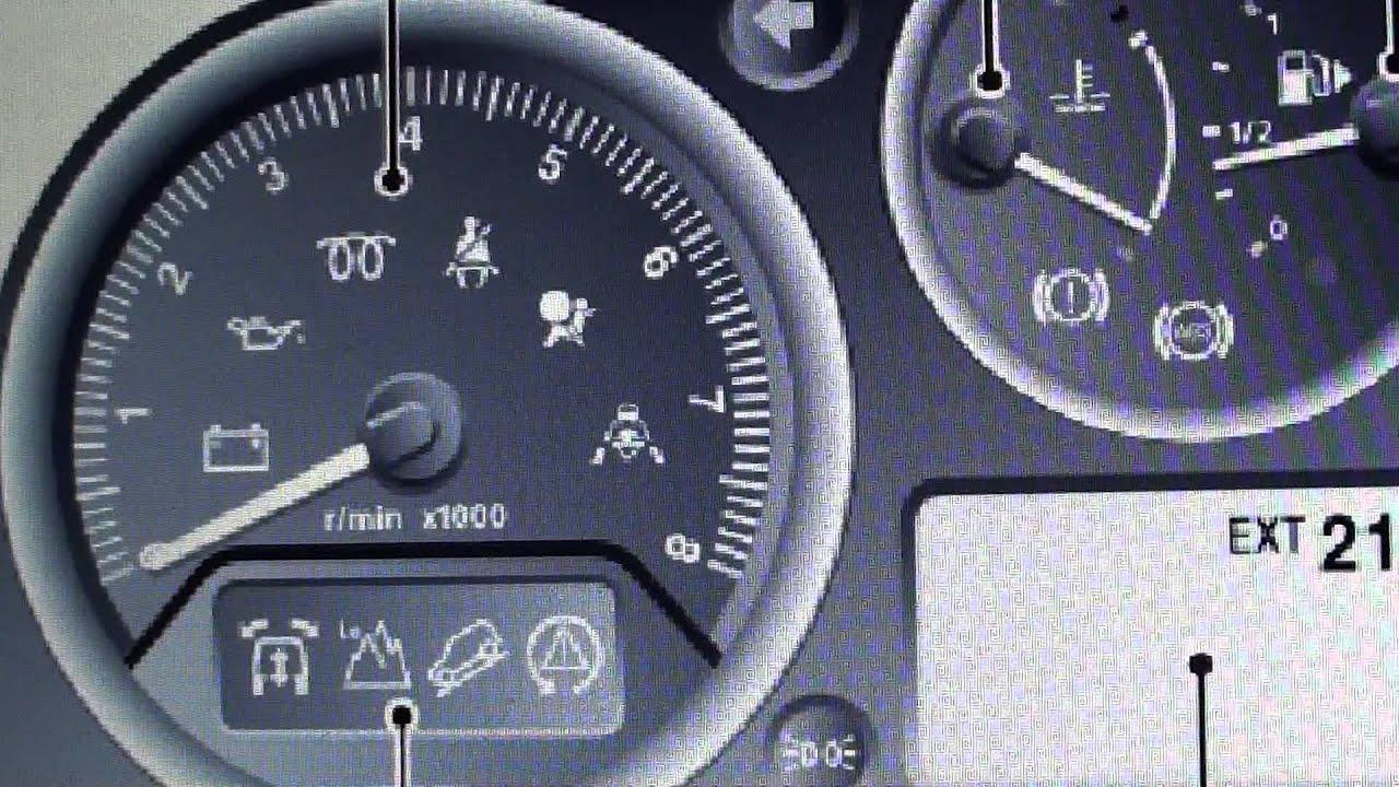 range rover sport l320 srs airbag warning light how to. Black Bedroom Furniture Sets. Home Design Ideas