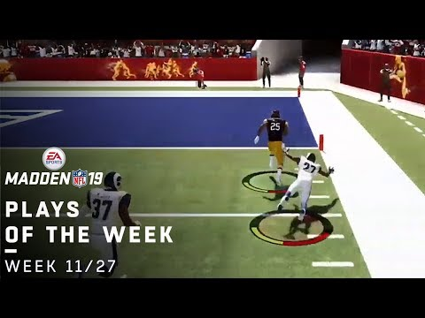 Top Madden 19 Fan Plays of the Week! (11/27)