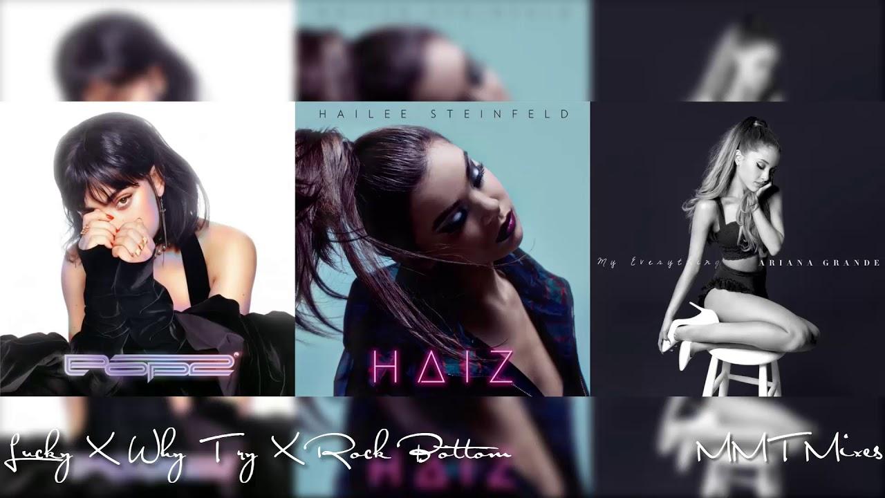 Lucky X Why Try X Rock Bottom | Charli XCX, Ariana Grande & Hailee Steinfeld Mashup!