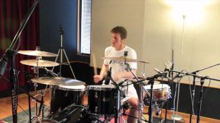"Boys Like Girls - ""Hero/Heroine"" (Drum Cover) - Drew Scheuer"
